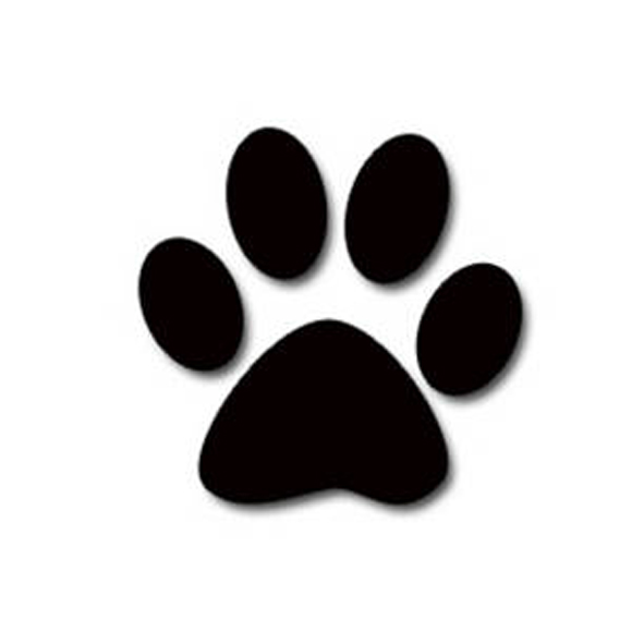 pet dogs carbon paw print is double than a diesel suv pets world rh petsworld in Single Paw Print Paw Print Drawing