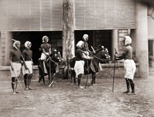 Manipur Polo Players 1875. Image - Pinterest