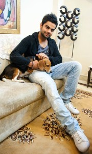 Virat and Bruno as featured in Dogs  and Pups magazine