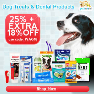 Shop Dog Dental Treats at Petsworld India
