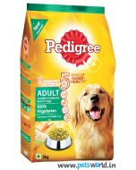 Pedigree Adult Vegetarian Dog Food 3 Kg
