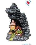 Aqua Geek Aquarium Decoration Mountain House