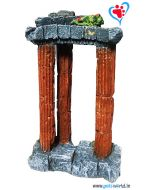 Aqua Geek Aquarium Decoration 3 Pillars
