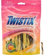 Twistix  Dog Treats Pumpkin Spice Flavor Large