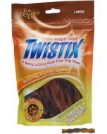 Twistix  Dog Treats  Peanut and Carob Flavor Large