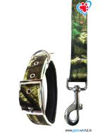 Petsworld Printed Dog Collar And Leash 3