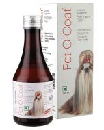 All4Pets Pet-O-Coat Nutritional Supplement For Dogs And Cats 200 ml