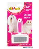 All4Pets Slicker Brush Straight Model