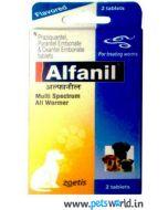 Zoetis Alfanil 2 tabs