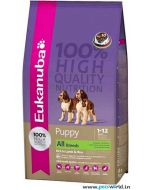 Eukanuba All Breed Puppy Lamb & Rice Dog Food 12kg