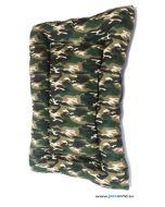 Camouflage Slumber Dog Bed L x B X H: 52 x 38 x 4