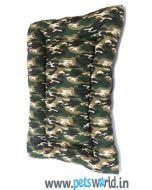 Camouflage Slumber Dog Bed L x B X H: 40 x 30 x 4