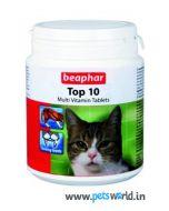 Beaphar Top 10 Multivitamin Cat Supplement 30 tabs