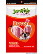 Jerhigh Dog Treats Bacon Treat 100 gms