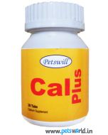 Petswill Cal Plus Calcium Supplement 30 Tabs