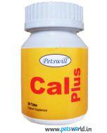 Petswill Cal Plus Calcium Supplement 30 Tabs