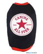 "DOG EEZ Winter Tshirt ""Canine All Star"" 24 inches"