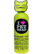 Pet Head De Shed Me Strawberry Lemonade Miracle Deshedding Shampoo For Cats 354 ml