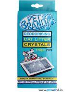Pet Brands Cat litter Crystals 170 gms