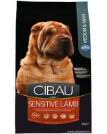 Cibau Medium And Maxi Breed Sensitive Lamb Adult Dog Food 12 Kg