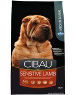 Cibau Medium And Maxi Breed Sensitive Lamb Adult Dog Food 12 Kg