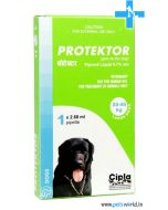 Cipla Protektor Spot On For Large Dogs 20-40 Kg (2.68 ml)