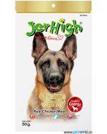 Jerhigh Dog Treats Chicken Jerky 50 gms