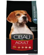 Cibau Medium Breed Adult Dog Food 2.5 Kg