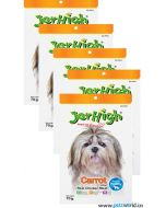 Jerhigh Dog Treats Carrot 70 gms 5 Pcs Combo