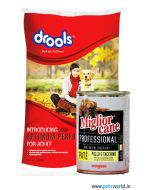 Drools Optimum Performance Adult 20 Kg + Morando Miglior Cane 405 gms Combo