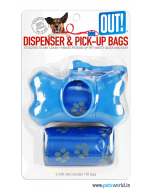 PetCare OUT Bone Dispenser With Waste Pick-Up Bags