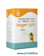 Intas Eazypet Dewormers For Dogs and Cats 10 tabs