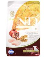 Farmina N&D Pumpkin Grain Free Chicken and Pomegranate Mini Adult Dog Food, 0.8 kg