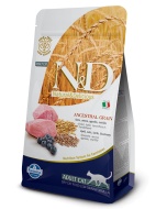 Farmina N&D Low Grain Lamb & Blueberry Adult Cat Food 1.5 Kg
