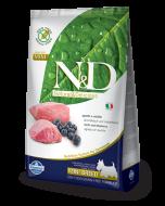 Farmina N&D Pumpkin Grain Free Lamb and Blueberry Mini Adult Dog Food, 7 kg