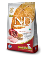 Farmina N & D Low Grain Chicken & Pomegranate  Puppy Dog Food 2.5 kg ( Mini)