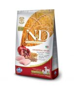 Farmina N&D Low Grain Chicken & Pomegranate Light  Adult, Mini & Medium Dog Food 2.5 Kg