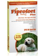 Savavet Fiprofort Plus Spot On For Dogs Upto 10 Kg 0.67 ml