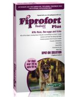 Savavet Fiprofort Plus Spot On For Dogs Over 20 Kg Upto 40 Kg 2.68 ml
