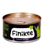 Finikee Grilled Chicken Topping On Tuna Premium Canned Cat Food 185 gms