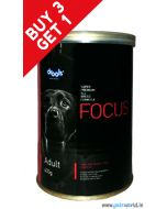 Drools Focus Adult Can Food 400 gm BUY 3 GET 1