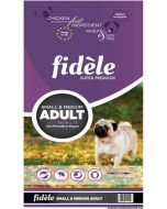 Fidele Small & Medium Breed Adult Dog Food 4 Kg