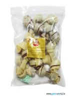 """Gnawlers 4"""" Knotted Bone 400 gms"""