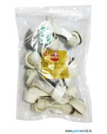 """Gnawlers 6"""" Knotted Bone 400 gms"""
