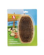 All4Pets Handled Wooden Brush Large
