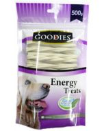 Goodies Dog Treats Calcium Triple Typed Twisted 500 gms