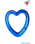 Petsworld Transparent Heart Chew Dog Toy