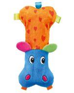 Trixie Hippo Plush Dog Toy