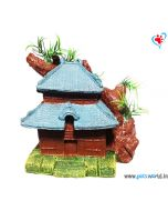 Aqua Geek Aquarium Decoration Ancient Chinese Hut