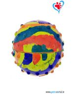 Pets World Dog Rubber Ball Medium